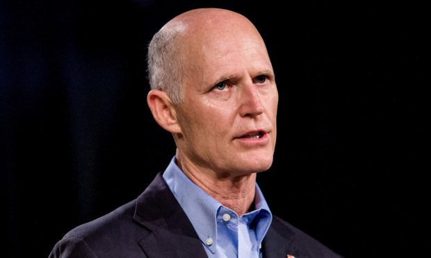 Florida Gov. Rick Scott/photo by Scott McIntyre/Bloomberg