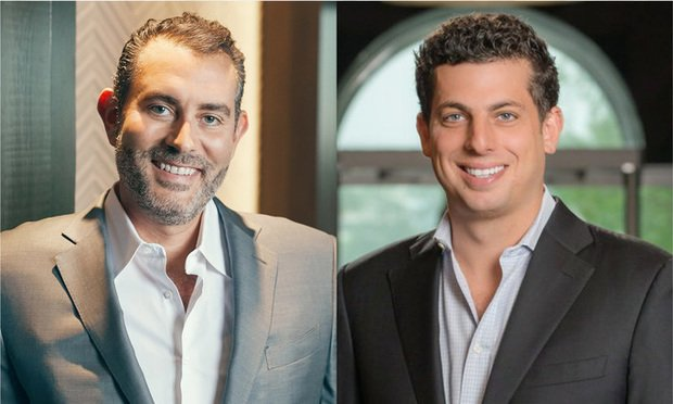 Todd Rosenberg, left, co-founder of Pebb Capital, and Ian Weiner, CEO and president of Pebb Enterprises. Courtesy photos.