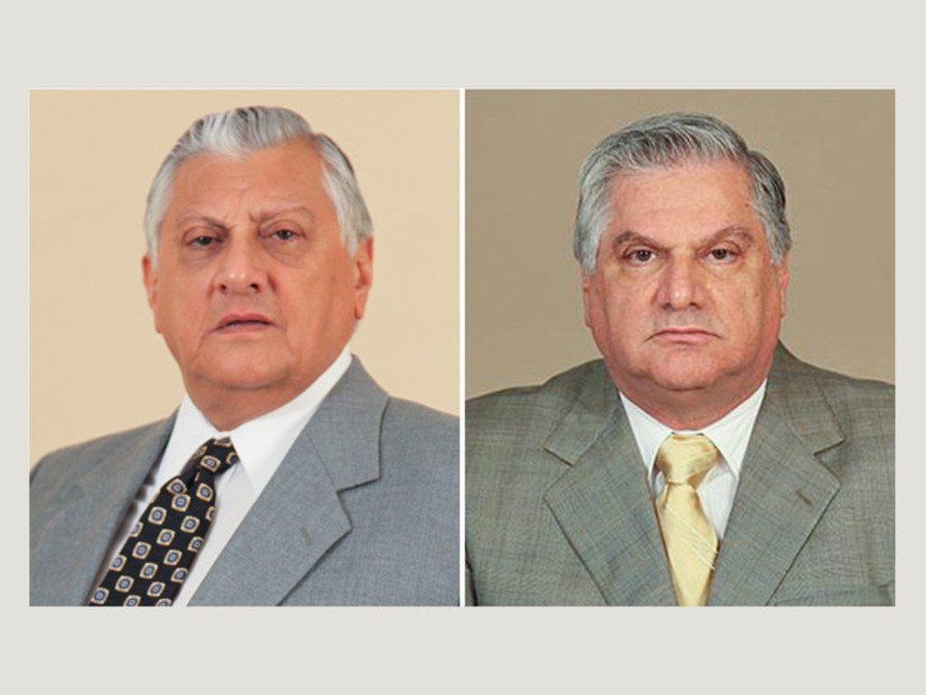 William and Roberto Isaias.