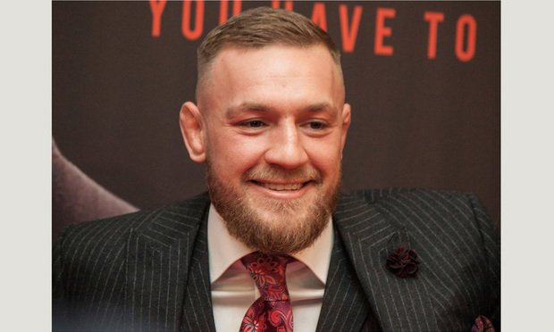 Irish professional mixed martial artist and boxer Conor McGregor