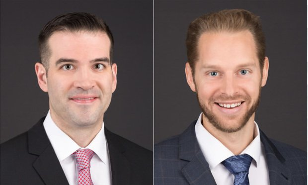 L-R Justin Parafinczuk and Marcus Susen, Koch Parafinczuk Wolf Susen in Fort Lauderdale.
