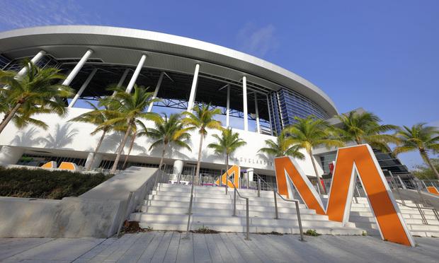 Marlins Park, home to the Florida Marlins. Credit: Felix Mizioznikov/Shutterstock.com