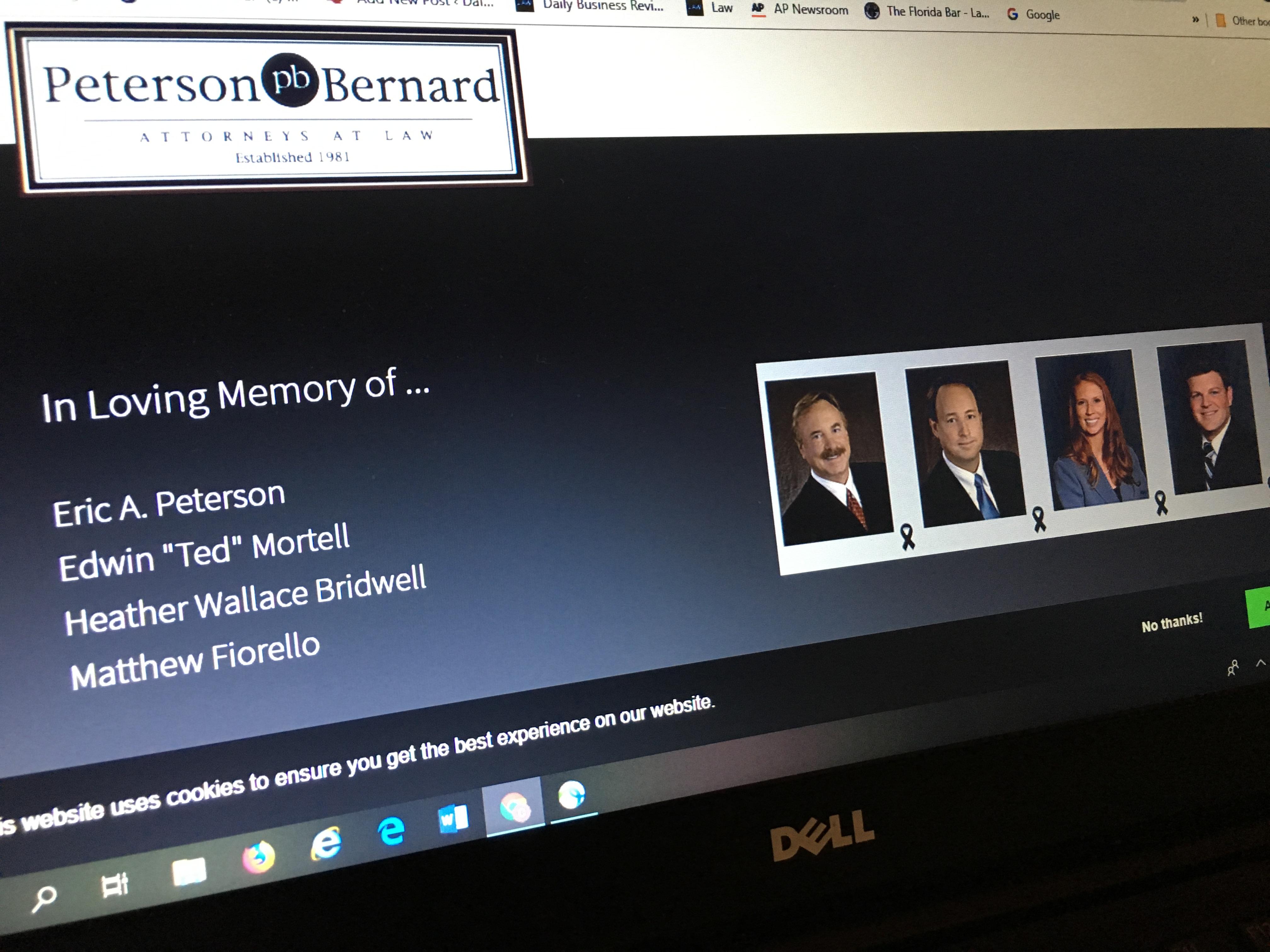 Peterson Bernard homepage