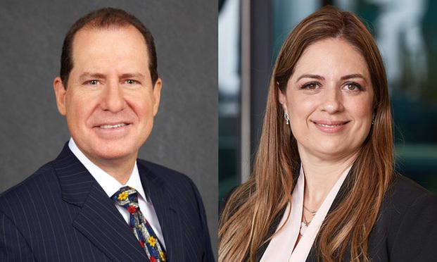 David B. Haber,left, and Nilka Gomez,right, of Haber Law.