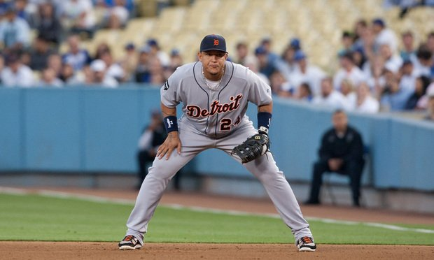 Miguel Cabrera #24 during the Major League Baseball game on June 20 2011 at Dodger Stadium in Los Angeles. Photo: Photo Works/Shutterstock.