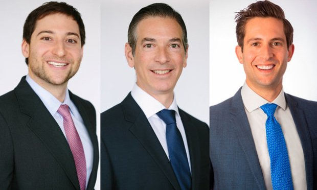Charles Penan, Jason Shapiro and Brell Tarich of Aztec Group.