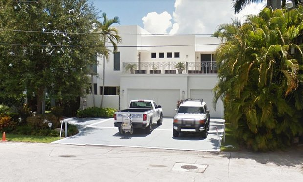 100 N. Gordon Road in Fort Lauderdale.