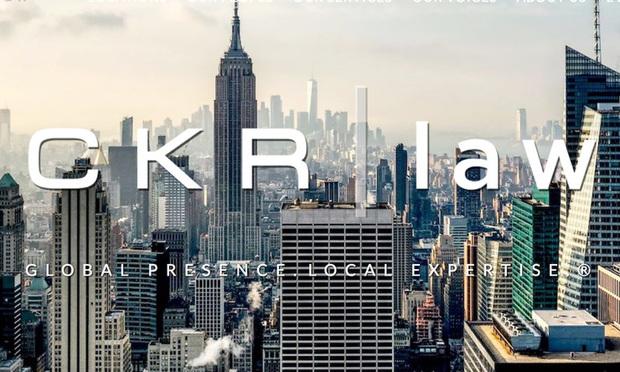 CKR Law website