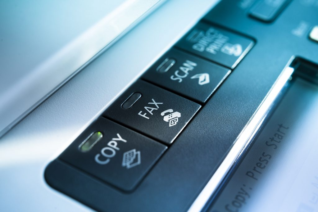 Fax Machine. Photo credit: Son Gallery/Shutterstock.com