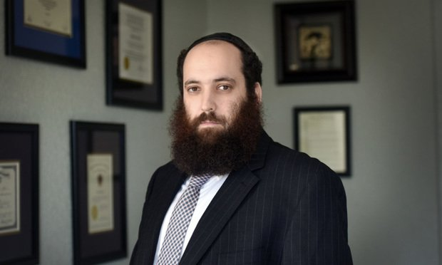 Fort Lauderdale attorney Yechezkel Rodal represents Yisroel Sternberg and Chana Beck, suing Spirit Airlines over alleged anti-Semitism. Courtesy photo.