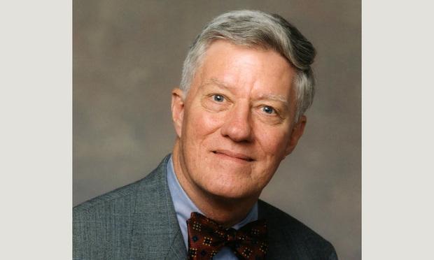 Former Florida State University president and law dean Sandy D'Alemberte.