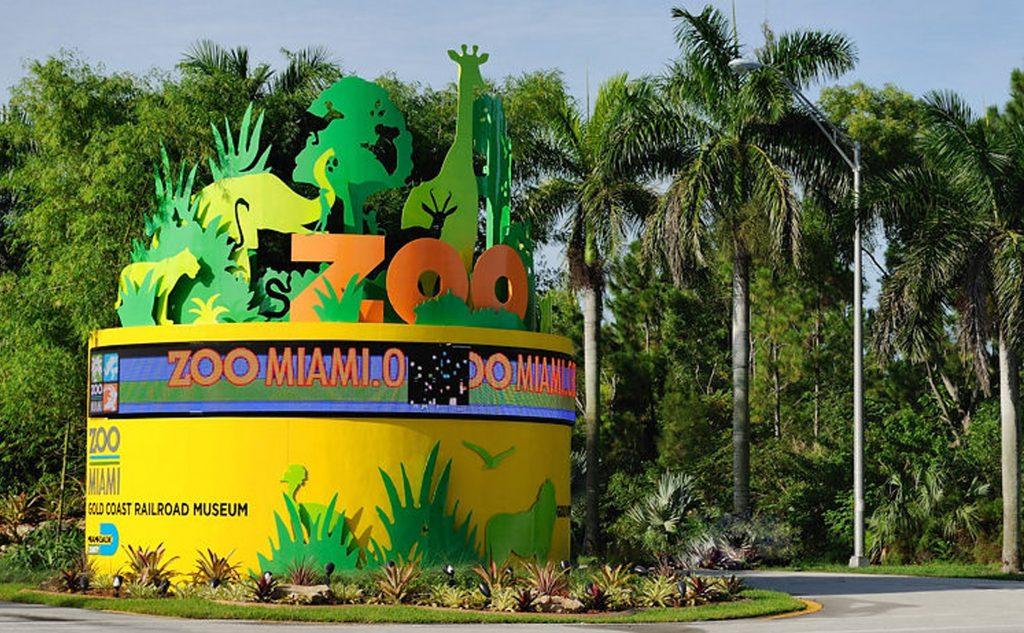 Entrance to Zoo Miami. Photo: Alexf via Wikimedia Commons