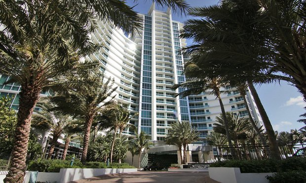 One Bal Harbour hotel and residences at 10295 Collins Ave., Miami. Photo by J. Albert Diaz.