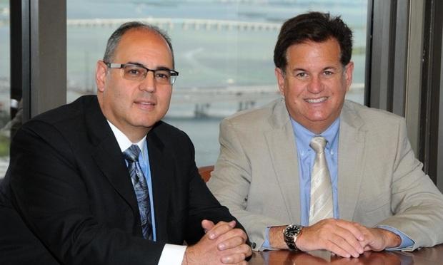 Michael Chesal and Steven Peretz, of Peretz Chesal Herrmann. Photo: Jill Kahn.