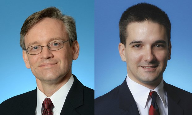 Martin Prinsloo, associate director with Berkowitz Pollack Brant's forensic and advisory services practice, left, and Gabriel Campos, manager of forensic technology at the accounting firm in Miami, right.