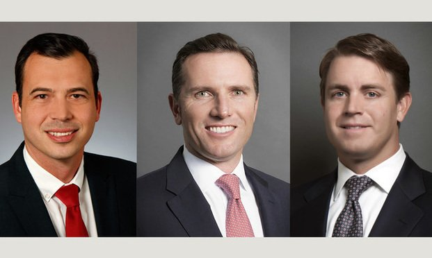 Jonathan Senn, Hampton Bebe and Avery Klann