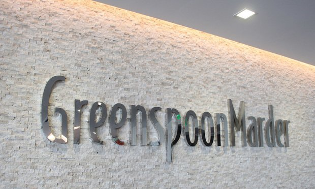 Greenspoon Marder sign