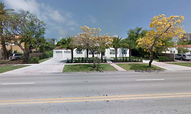 2822 Pine Tree Drive, Miami.