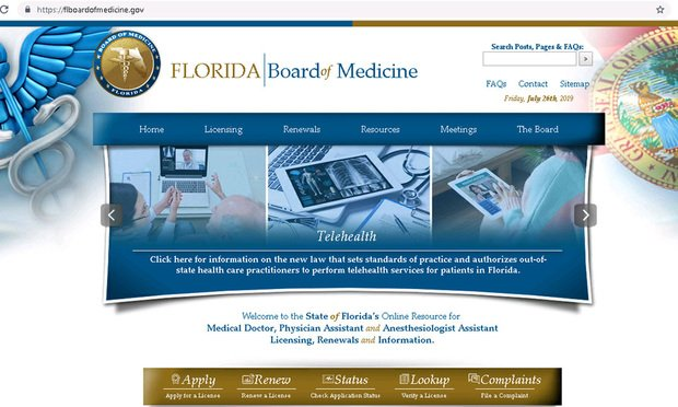 Fees a sore subject for FL doctors as telehealth moves forward