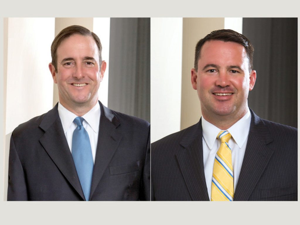 L-R Michael Haggard and Christopher Marlowe, The Haggard Law Firm. Courtesy photos