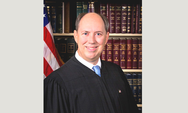 Fourth District Court of Appeal Judge Mark W. Klingensmith. Courtesy photo.