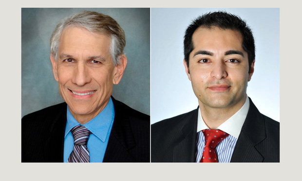 Saul Ewing Arnstein & Lehr partner Ronald Fieldstone in Miami and associate Rohit Kapuria in Chicago.