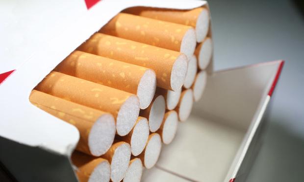 A box of cigarettes. Photo: Shutterstock.com.