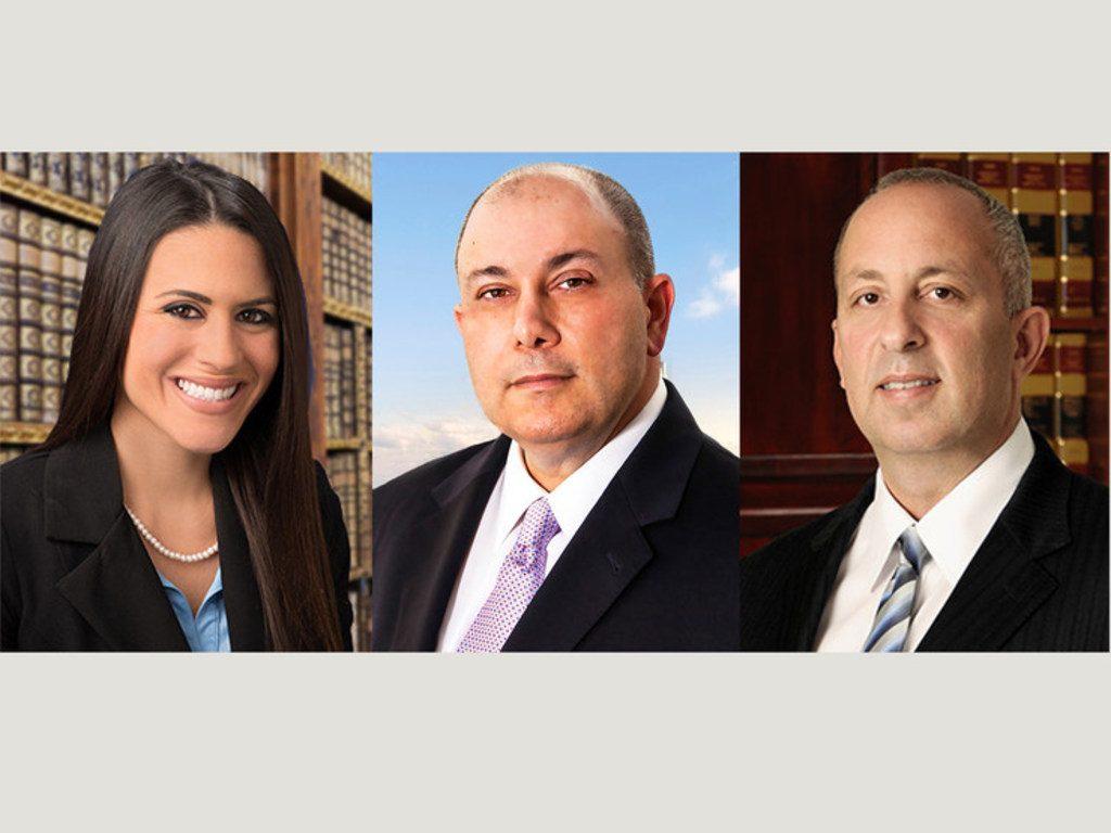 L-R: Cassandra Lombard, Randy Rosenblum, and Gary M. Paige. Courtesy photos