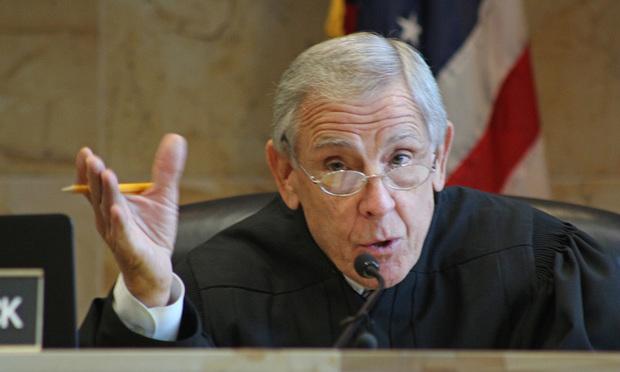 U.S. District Judge Paul C. Huck in the Southern District of Florida. Photo: J. Albert Diaz/ALM.