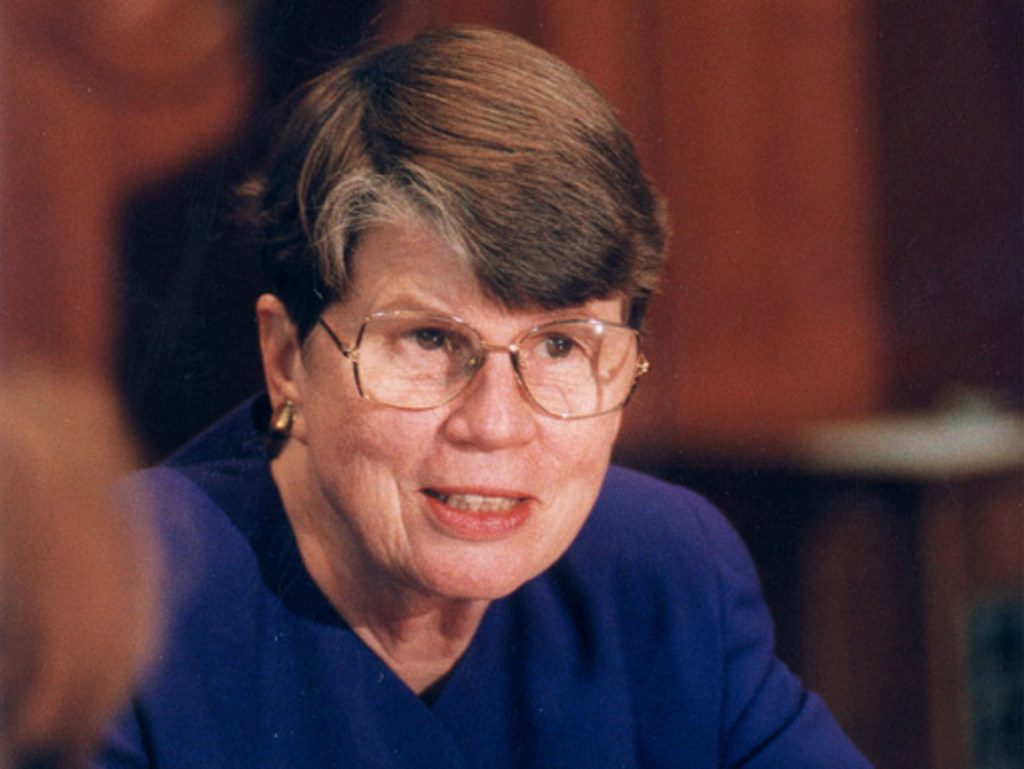 Attorney General Janet Reno, December 1997. Photo: Patrice Gilbert/ALM