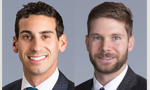 JLL  senior director Scott Wadler and director Jesse Wright, both in Miami.