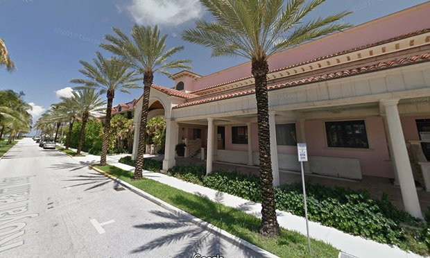 160 Royal Palm Way in Palm Beach. Credit: Google.