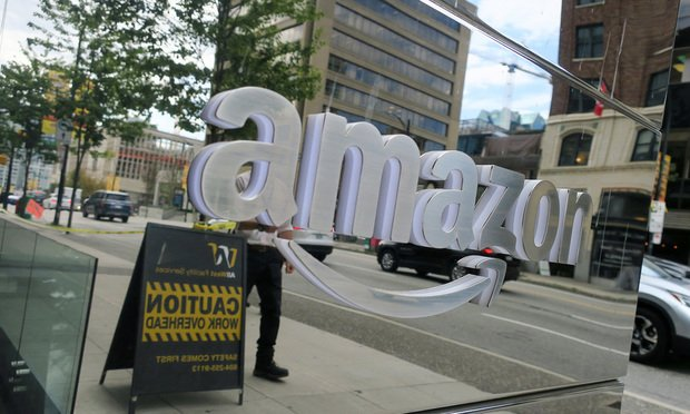 Amazon signage