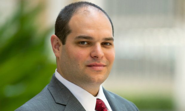 Benjamin Widlanski of Kozyak, Tropin & Throckmorton in Coral Gables. Harley Tropin, of Kozyak Tropin & Throckmorton in Coral Gables represents a group of plaintiffs alleging certain Mercedes Benz models come with defective headrests. Courtesy photo.