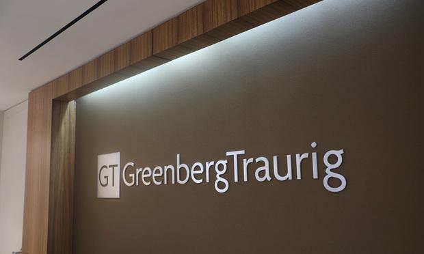 Greenberg Traurig signage