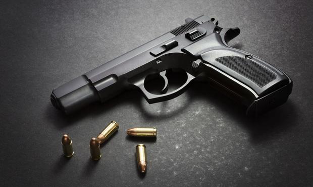 Handgun/credit: topseller/Shutterstock.com