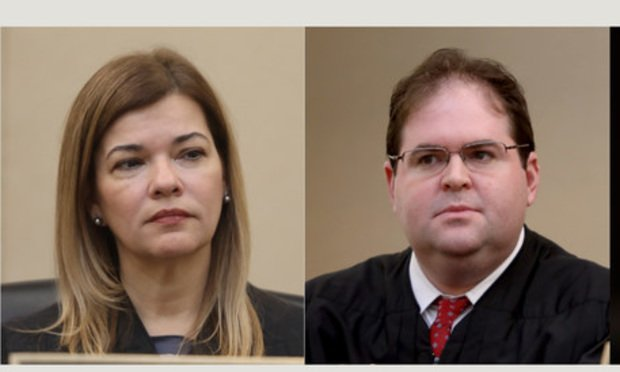 Judge Barbara Lagoa and Judge Robert J. Luck