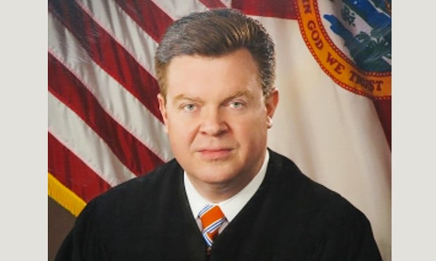 Judge Ross L. Bilbrey of First District Court of Appeal. Courtesy photo