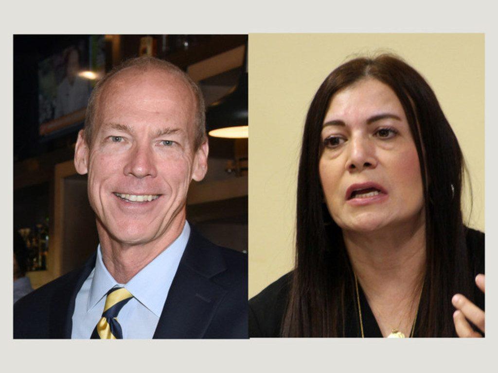 Palm Beach Circuit Judges Jeffrey Colbath and Meenu Sasser. Courtesy photos