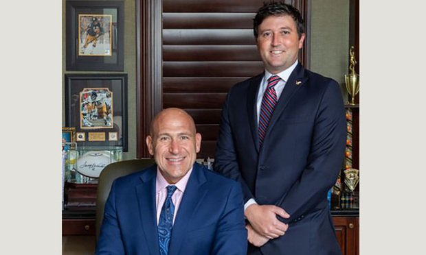 Brian LaBovick (left) and Peter Hunt (right) of LaBovick Law Group in Palm Beach Gardens. Courtesy photo.