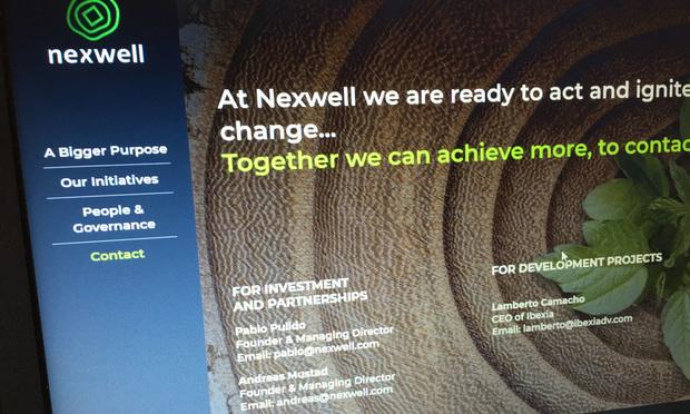 Nexwell website