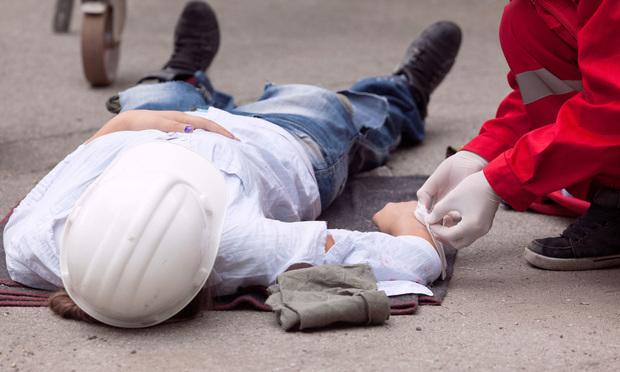 Work-related injury/credit: wellphoto/Shutterstock.com