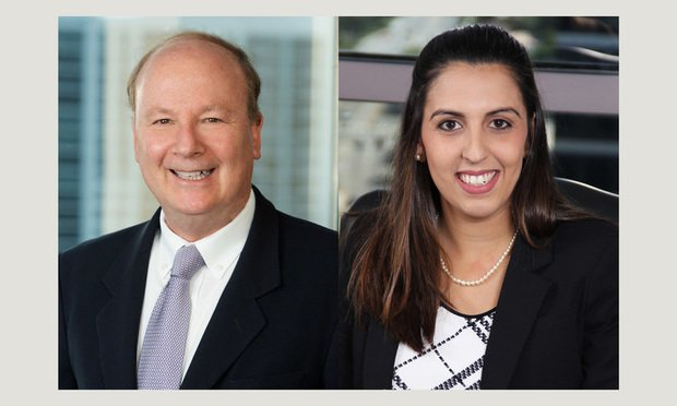 Robert Meyers, partner, Elen Gantner, Associate, Weiss Serota Helfman Cole & Bierman, Fort Lauderdale