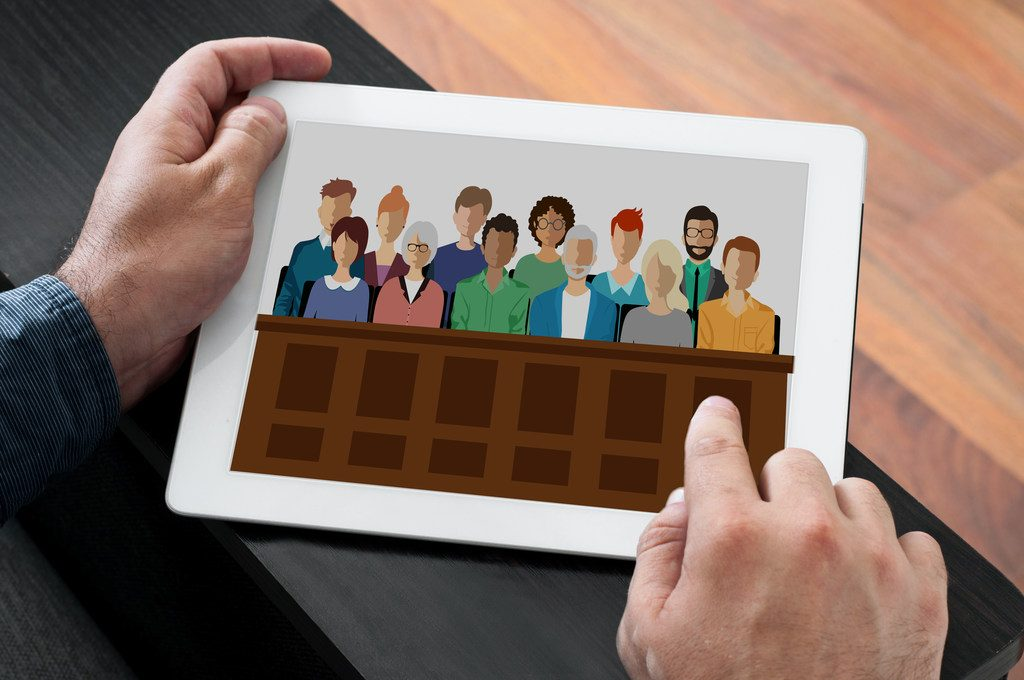 Jury Software. Photo: Shutterstock.com