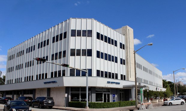 The Biltmore Professional Building at 475 Biltmore Way in Coral Gables. Courtesy photo.