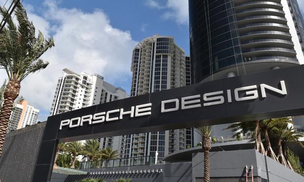 Porsche Design Tower. Courtesy photo.