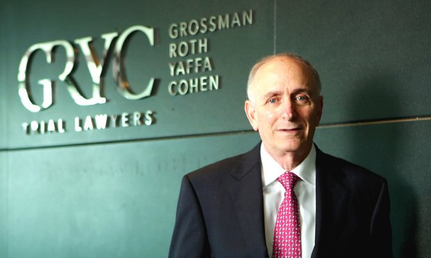 Neal A. Roth, co-founder of Grossman Roth Yaffa Cohen. Courtesy photo.