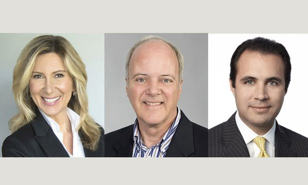 (l-r) Diane Nobile, Christopher Zoller, and Anthony De Yurre. Courtesy photos