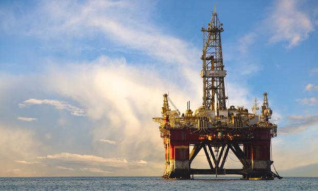 Oil derrick/photo by Shutterstock.com.