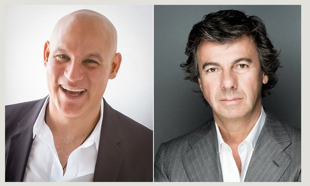 Miami Design District developer Craig Robins, left, who also is CEO and president of Dacra Development Corp., and developer of high-end residential and commercial projects in Miami Ugo Colombo, right, founder of CMC Group LLC.